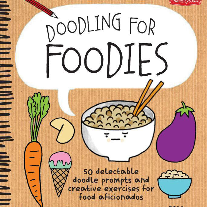 Doodling for Foodies by Gemma Correl