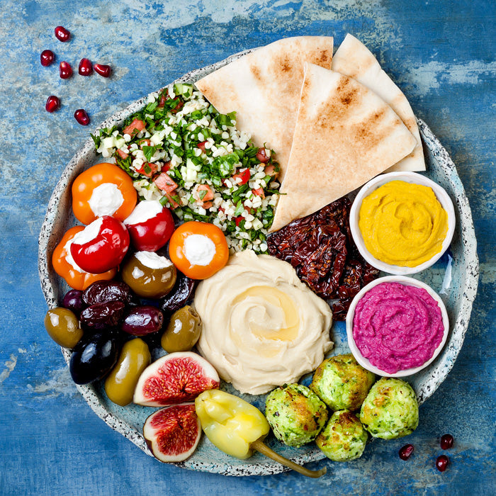 Mezze Dinner Party with JB: Saturday 25th August 2018