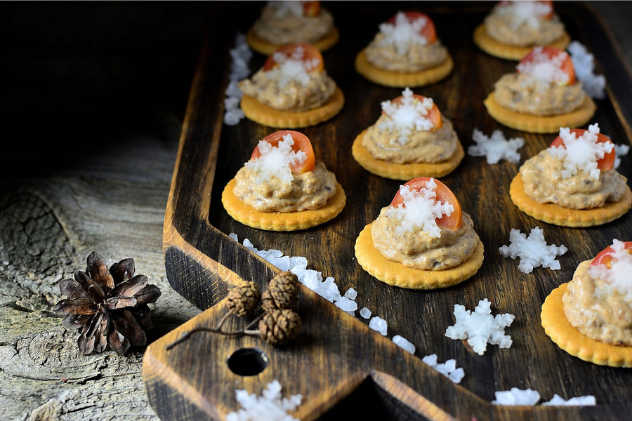 Christmas Canapes & Nibbles (December)