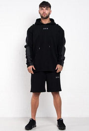 304 CLOTHING HOODIES 304 CLOTHING Griffon Waffle Hood Black