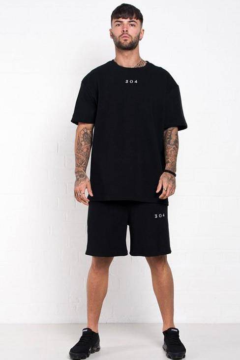 304 CLOTHING SHORTS 304 CLOTHING Griffon Waffle Shorts Black