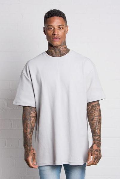 304 CLOTHING T-SHIRTS 304 CLOTHING GREY WAFFLE T-SHIRT