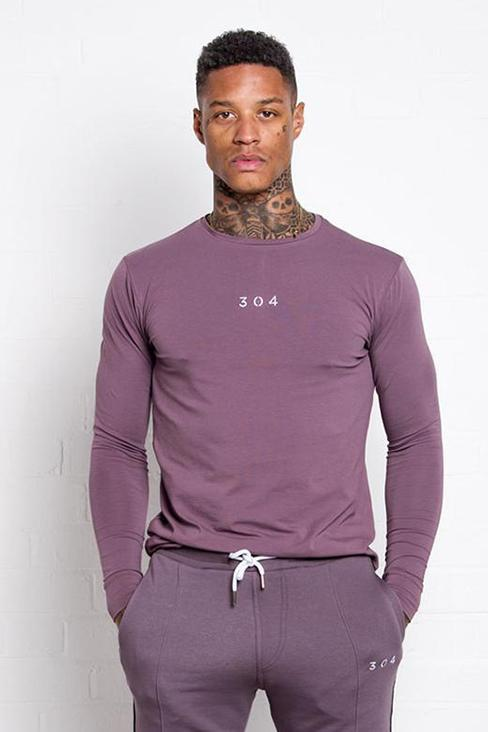 304 CLOTHING T-SHIRTS S 304 CLOTHING PLUM SANE LONG SLEEVE T-SHIRT