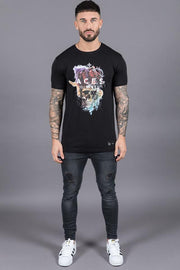 ACES COUTURE T-SHIRTS ROYAL SKULL TEE – BLACK