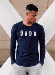 Badr Sport T-SHIRTS Badr Long Sleeve T-Shirt – Navy