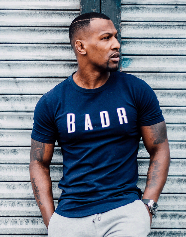 Badr Sport T-SHIRTS Badr Short Sleeve T- Shirt - Navy