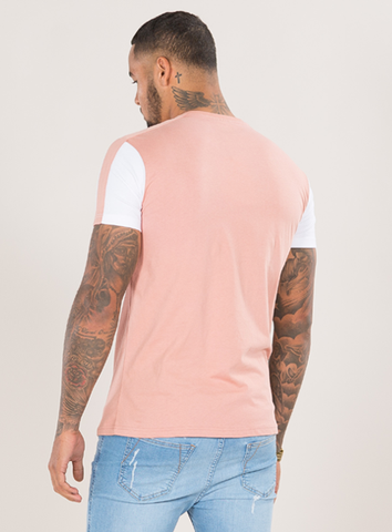 EMULATE T-SHIRTS SIENA WASHED ROSE TEE