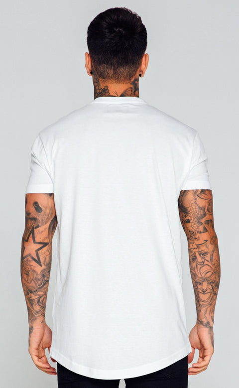 ENUKI LONDON T-SHIRTS ENUKI -Brand Carrier T-Shirt (White)