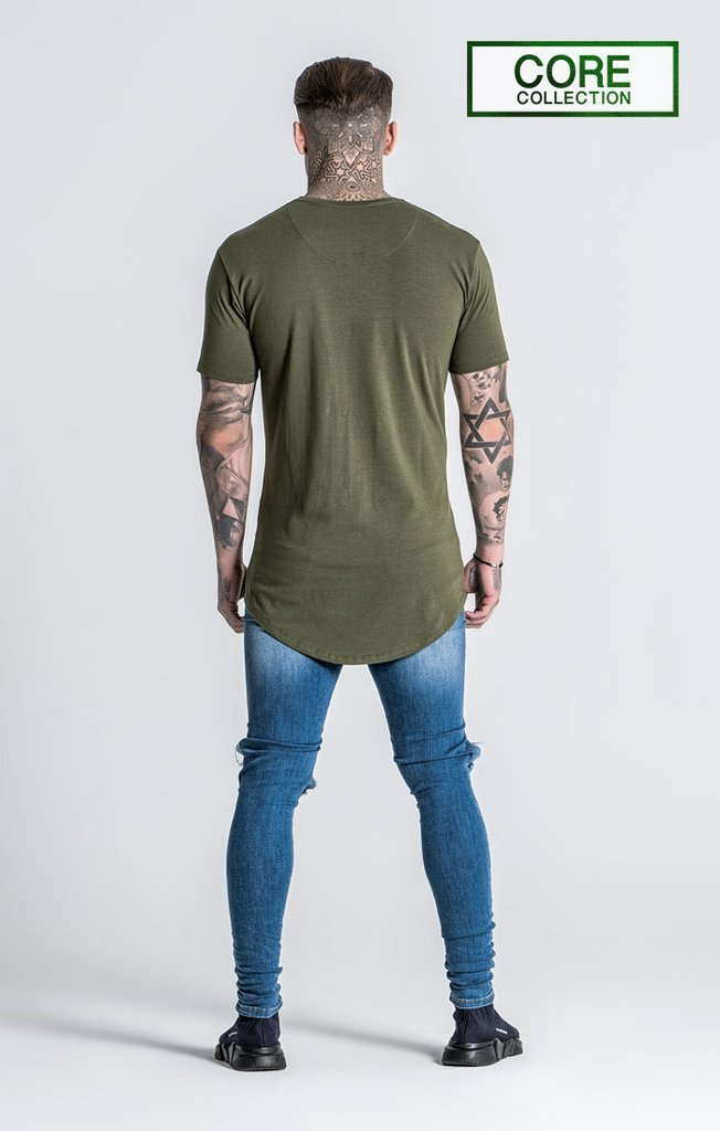 GIANNI KAVANAGH T-SHIRTS GREEN TEE CORE COLLECTION