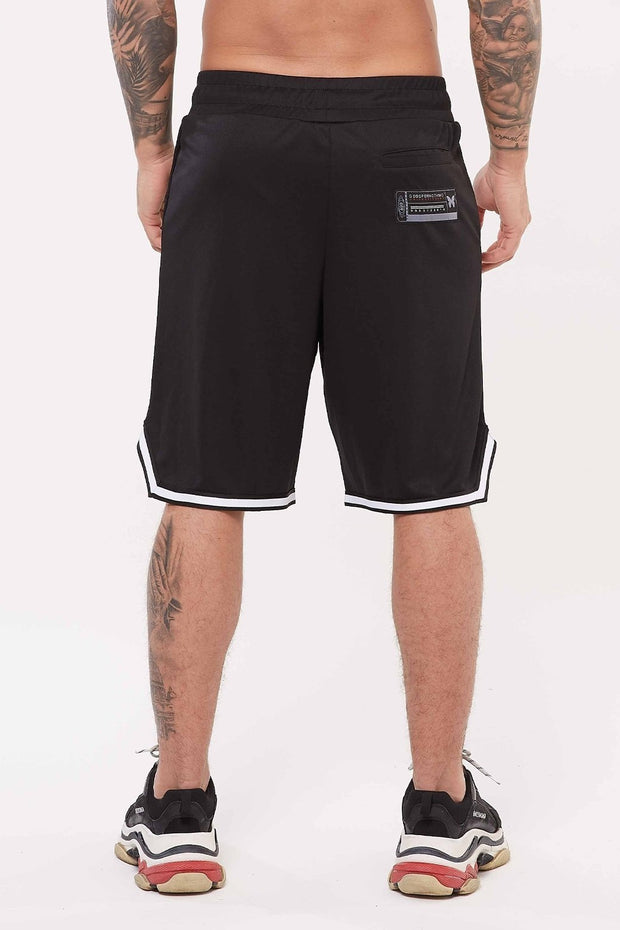GOOD FOR NOTHING SHORTS GOOD FOR NOTHING  Nothing Black Basketball Short