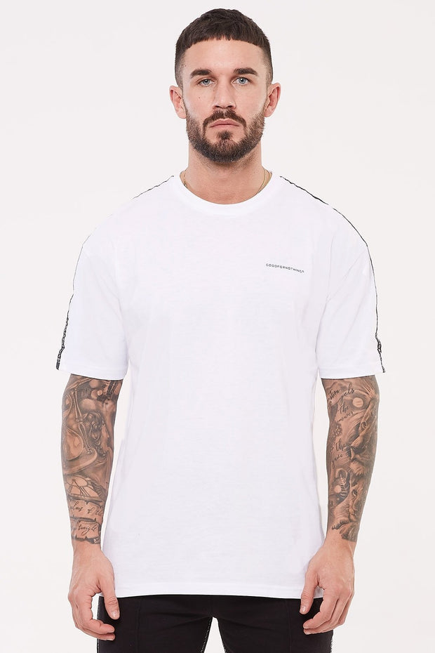 GOOD FOR NOTHING T-SHIRTS S GOOD FOR NOTHING Future Oversized White T-shirt