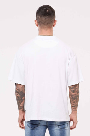 GOOD FOR NOTHING T-SHIRTS S GOOD FOR NOTHING Nothing Oversized White Jersey