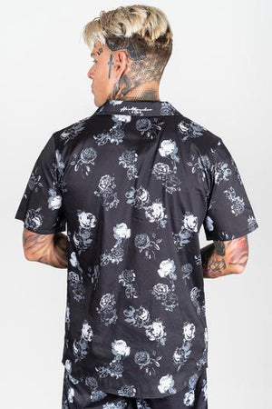 HEARTBREAKER CLUB SHIRTS HEARTBREAKER CLUB Garden Shirt in Black