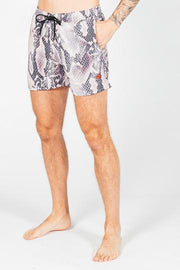 HEARTBREAKER CLUB SHORTS HEARTBREAKER CLUB Men's Viper Swim Shorts in Pink