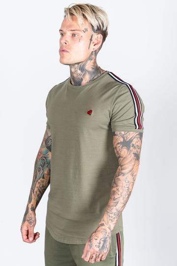 HEARTBREAKER CLUB T-SHIRTS HEARTBREAKER CLUB Men's Brigade T-Shirt in Khaki