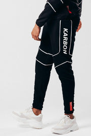KRBN INDUSTRIES JOGGING PANTS KRBN COMPON JOGGER MEN BLACK
