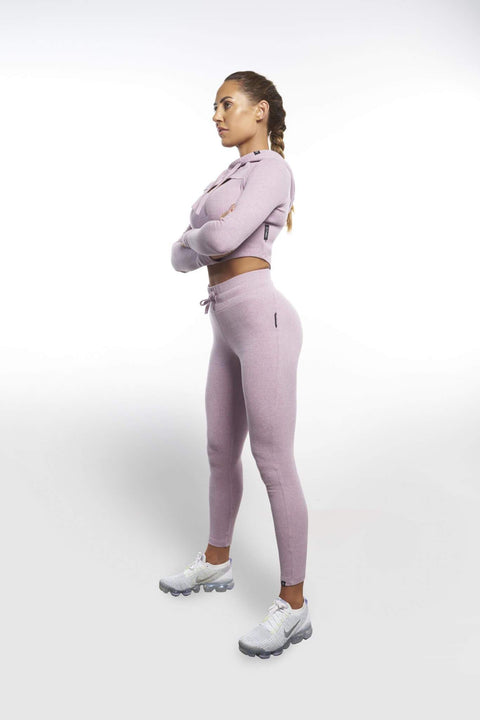 L COUTURE LEGGINGS L COUTURE - LAVENDER COMFORT LUXE PANTS
