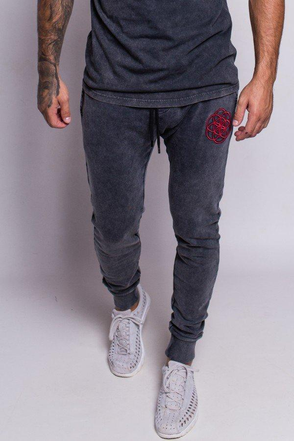 SCAR TISSUE JOGGING PANTS SCAR TISSUE ACID JOGGER (BLACK)