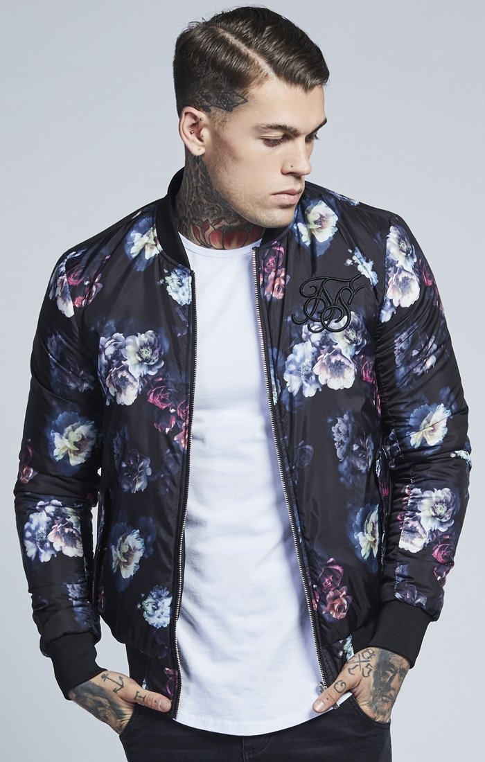 SIK SILK JACKETS SikSilk Reversible Light Weight Bomber – Antique rose