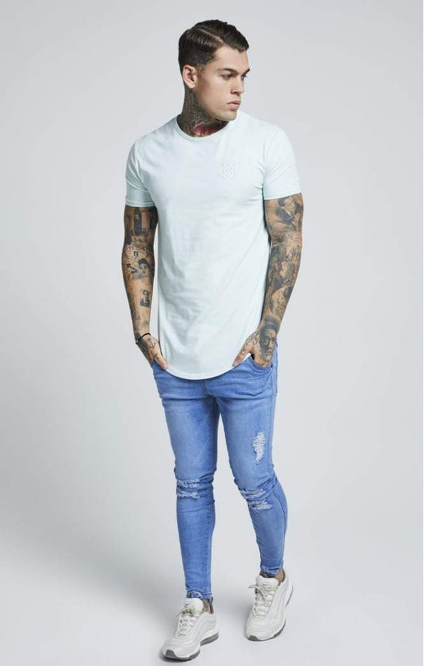 SIK SILK T-SHIRTS SikSilk  Short Sleeve Pastel Gym Tee – Pastel Green