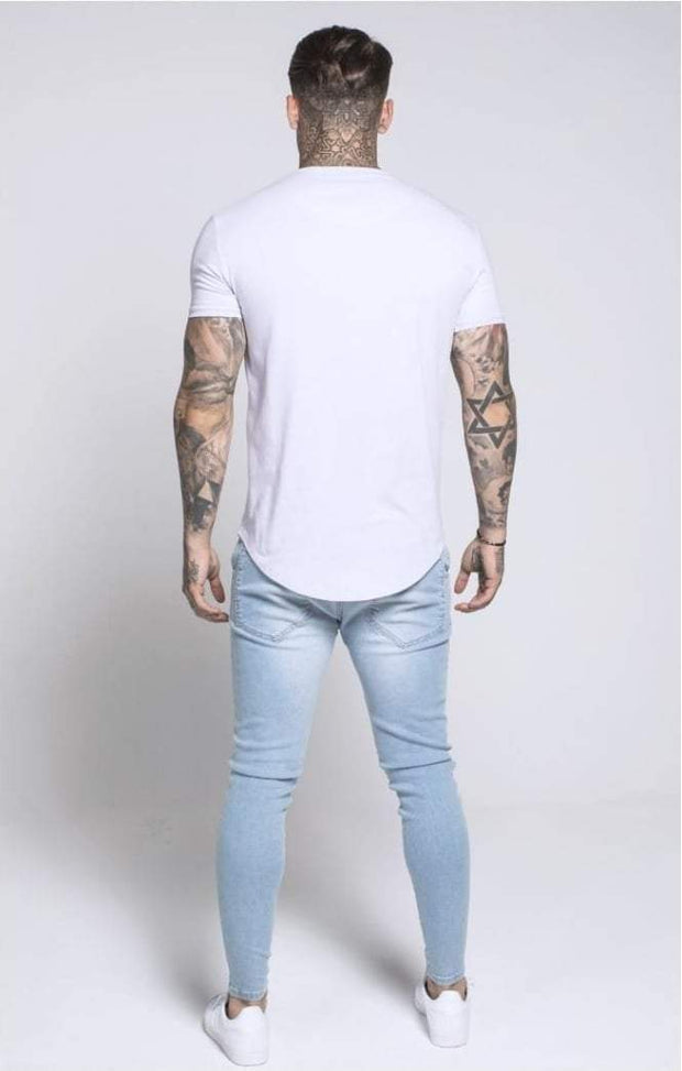 SIK SILK T-SHIRTS SikSilk  Short Sleeve Pastel Gym Tee – Pastel Lilac