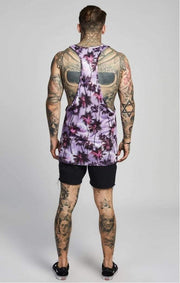 SIK SILK VESTS SikSilk  Palm Rework Poly Vest – Deep Lilac
