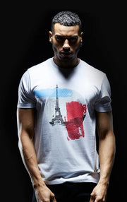 SOCIETE NOIR T-SHIRTS NOIR Paris T-shirt • WHITE