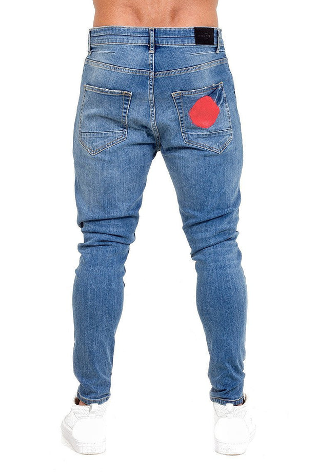 THE COUTURE CLUB JEANS THE COUTURE CLUB -MENS AOMORI JEAN | BLUE