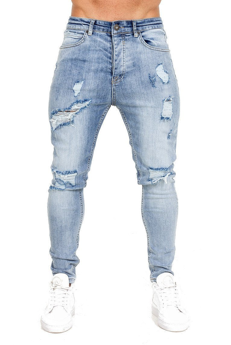 THE COUTURE CLUB JEANS THE COUTURE CLUB -MENS AOMORI JEAN | LIGHT BLUE