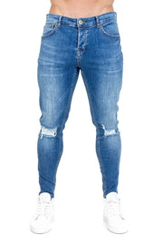 THE COUTURE CLUB JEANS THE COUTURE CLUB -MENS OITA JEAN | BLUE