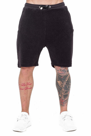 THE COUTURE CLUB SHORTS THE COUTURE CLUB - MENS NEWPORT SHORT | BLACK