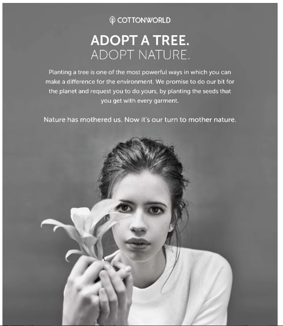Cottonworld Adopt A Tree
