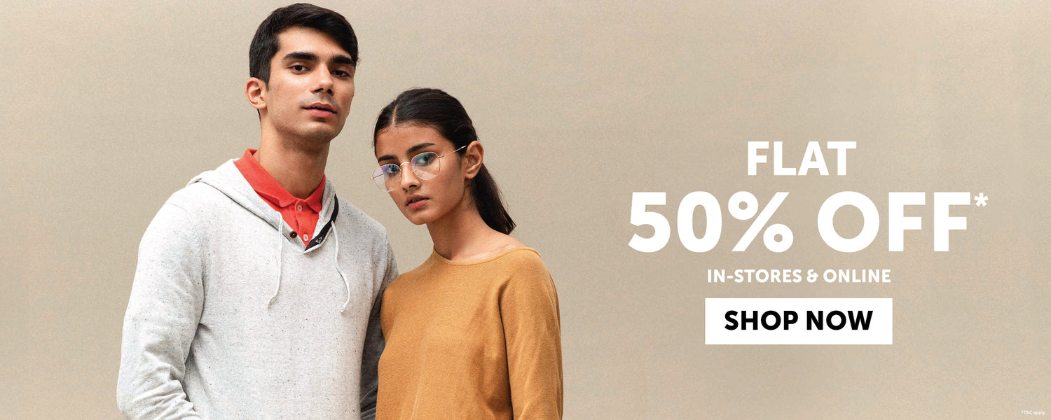 Flat 50% Off on Clothing | cottonworld.net