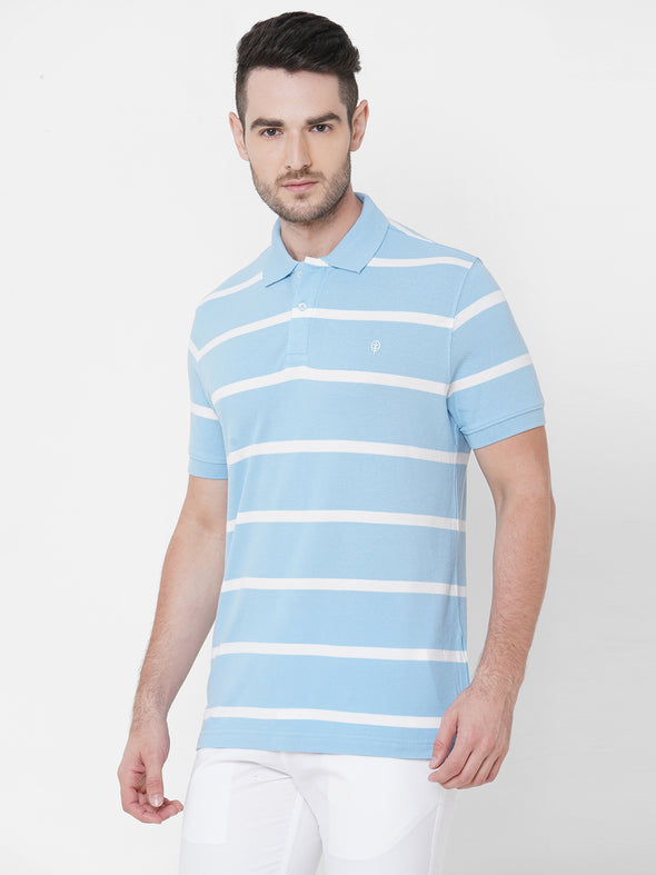Men's Cotton Sky Regular Fit Tshirt Cottonworld Men's Tshirts
