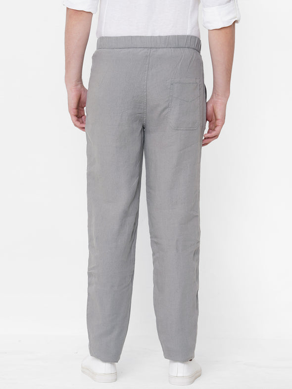 Men's Linen Avenue Regular Fit Pants Cottonworld Men's Pants