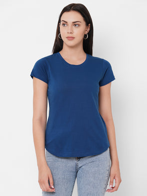 Women's Cotton Royal Regular Fit Tshirt