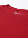 Men's Cotton Red Regular Fit Tshirt Cottonworld Men's Tshirts