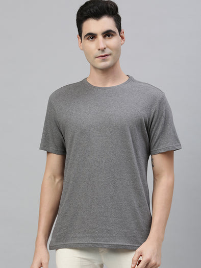 Men's Cotton Anthra Regular Fit Tshirt Cottonworld Men's Tshirt