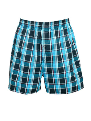 Cottonworld Men's Boxers Men's Cotton Blue Regular Fit Boxers