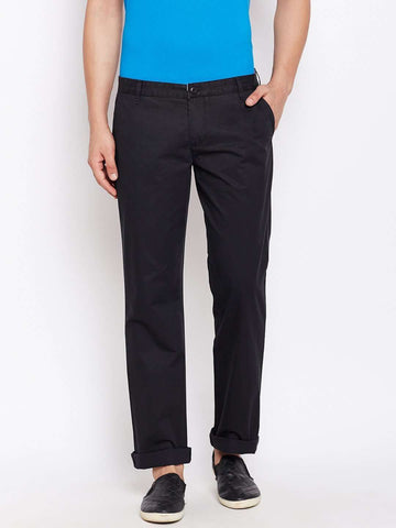 Cottonworld Men's Pants MEN'S 100% COTTON BLACK PANTS