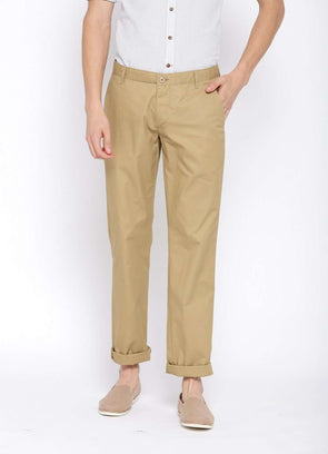 Cottonworld Men's Pants MEN'S 100% COTTON KHAKI PANTS