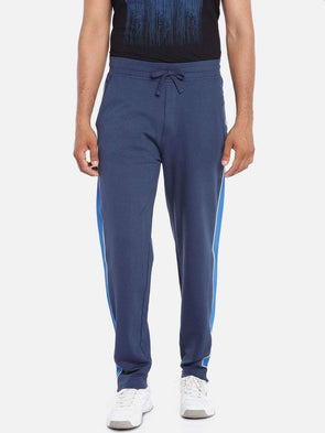Cottonworld Men's Pants MEN'S 100% COTTON NAVY REGULAR FIT KPANTS