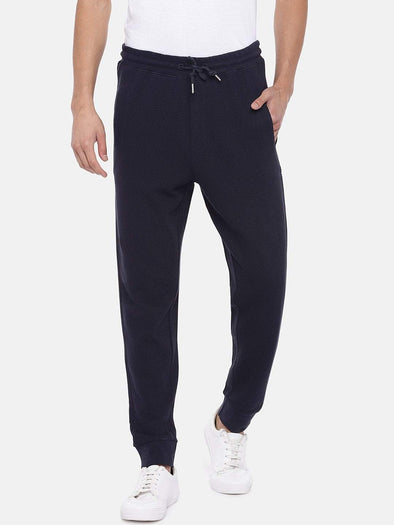 Men's Cotton Dark Navy Regular Fit Kpants Cottonworld Men's Pants