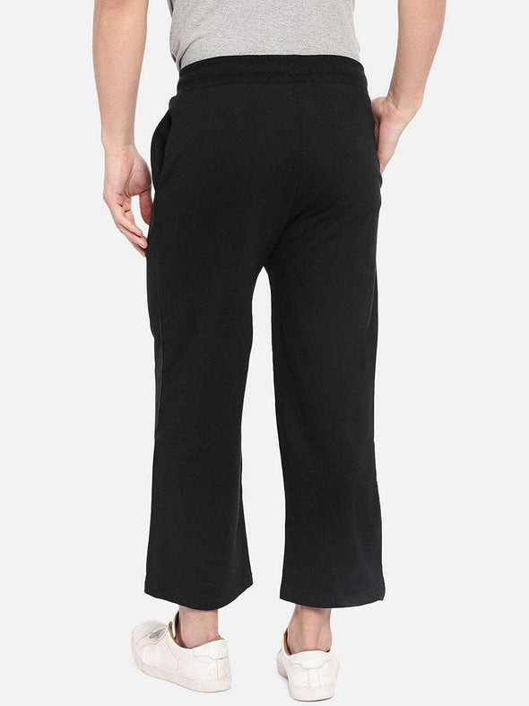 Men's Cotton Black Regular Fit Kpants Cottonworld Men's Pants