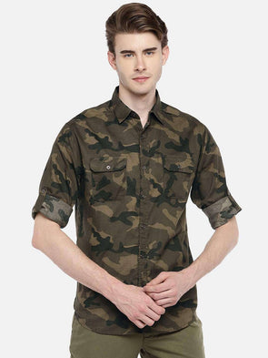Men's Cotton Forest Slim Fit Shirts Cottonworld Men's Shirts