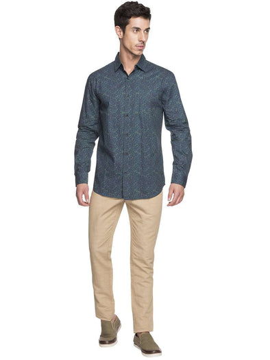 Cottonworld Men's Shirts MEN'S 100% COTTON FOREST REGULAR FIT SHIRTS