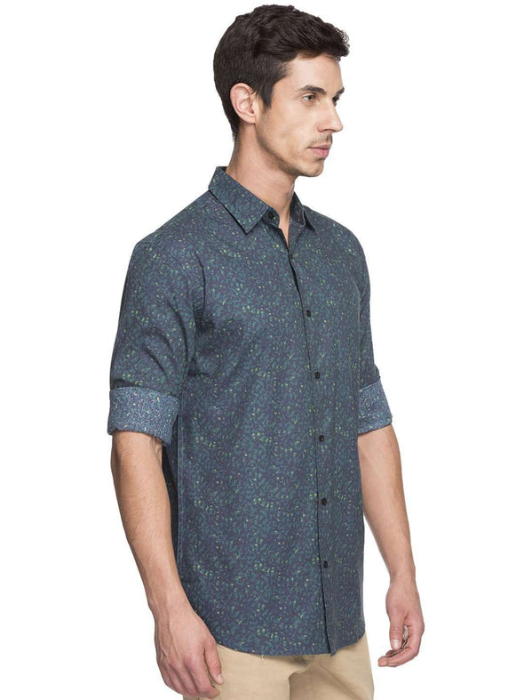 Men's Cotton Forest Regular Fit Shirt Cottonworld Men's Shirts
