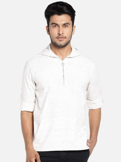 Cottonworld Men's Shirts MEN'S 100% COTTON NATURAL REGULAR FIT SHIRTS