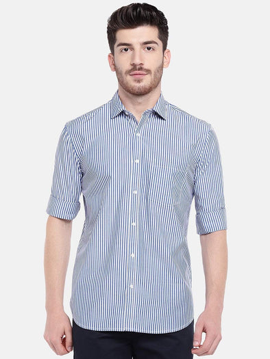 Men's Cotton Ink Regular Fit Shirts Cottonworld Men's Shirts