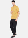 Men's Cotton Mustard Regular Fit Shirt Cottonworld Men's Shirts